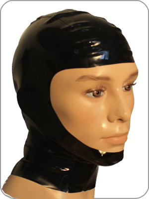 Open Face Rubber Hood
