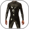 Mens Rubber CatSuits Latex Ganzanzug