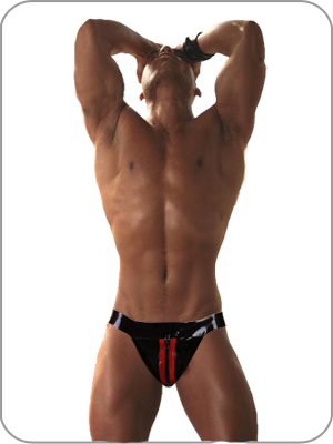 Mens Rubber  Jock Ultimate Heavy Duty