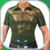 Mens Rubber Shirts Hemden & Mantel